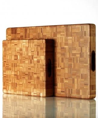 Få de smukke bambus skærebrætter fra Endeavour på I Love Eco Home