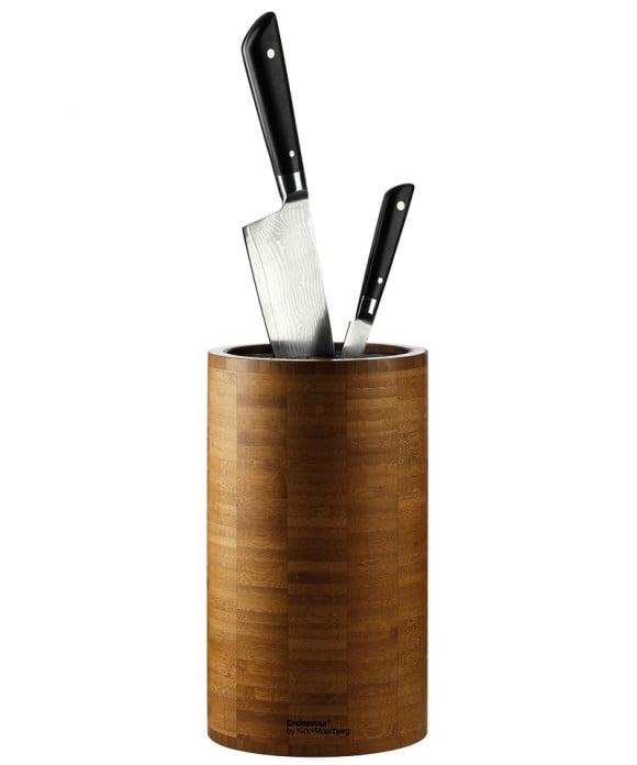 Lækker knivholder i bambus fra Endeavour, få den på I Love Eco Home