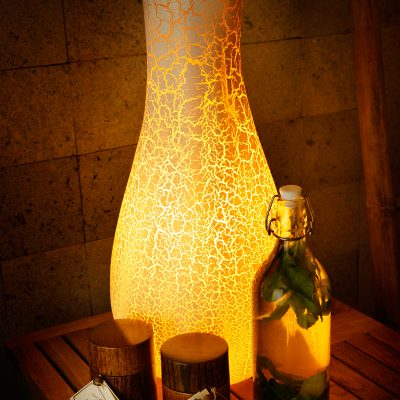 Bali Bottle Lamp fra Lio Collection