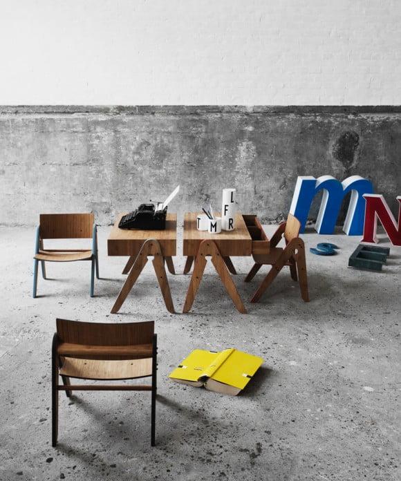 Smukt børne skrivebord fra We do Wood se det på I Love Eco Home