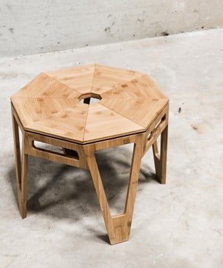 Octagon bord fra we do wood
