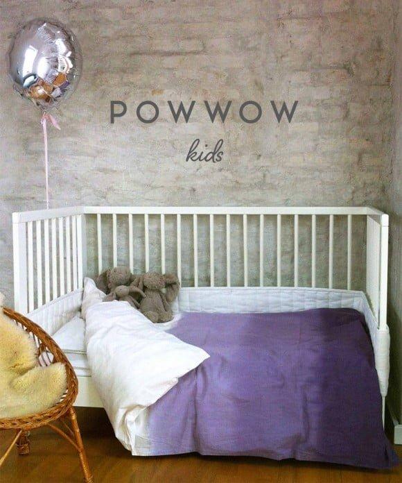 Dip Dye Økologisk sengetøj. GOTS Certificeret. POWWOW