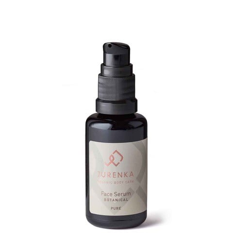 økologisk face serum botanical pure