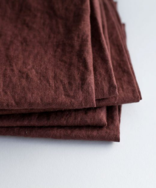 tea towel smokey bordeaux by dodesign